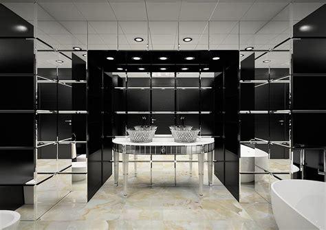 mobili cristallo mobili bagno in cristallo per suite hotel bagni di lusso