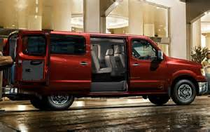 Nissan Passenger Vans 2017 Nissan Nv Passenger Review Redesign Specs