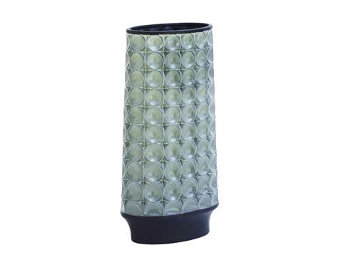 Adele White Ceramic Vase steinhafels ceramic vase