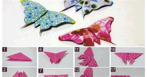 contoh membuat origami yang mudah ayenyek cara membuat rama rama origami