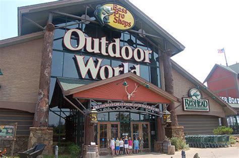 outdoor world oklahoma city bass pro shops outdoor world oklahoma city