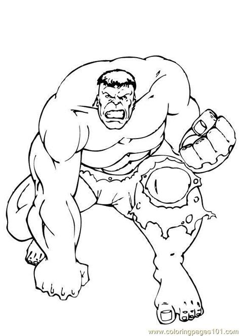 Coloring Page Incredible Hulk | hulk coloring pages incredible hulk coloring pages how to