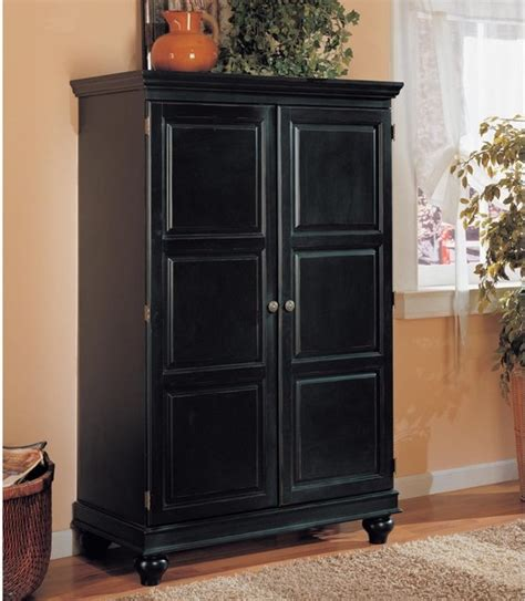 contemporary computer armoire sunrise computer armoire black modern storage