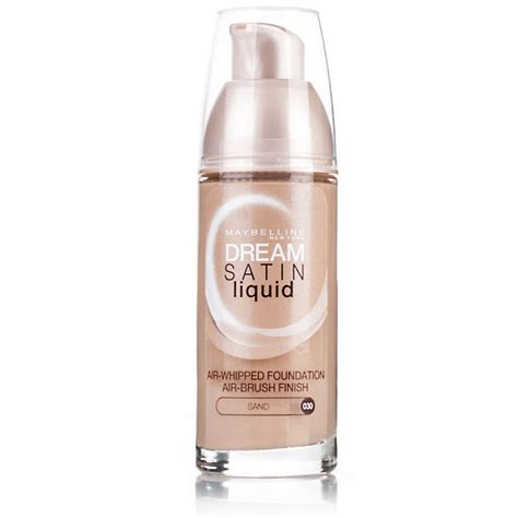 Maybelline Satin Foundation the foundation for your skin type