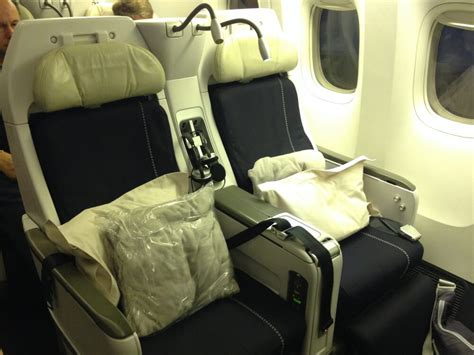 Comfortable Reading Chair by Air France Premium Economy Review The Travel Bite