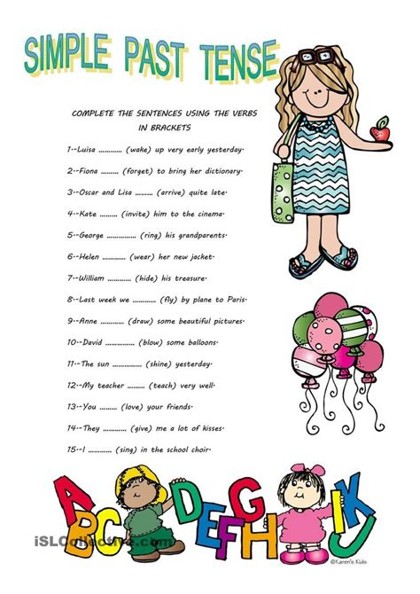 verb pattern give up 689 best images about esl worksheets of the day on
