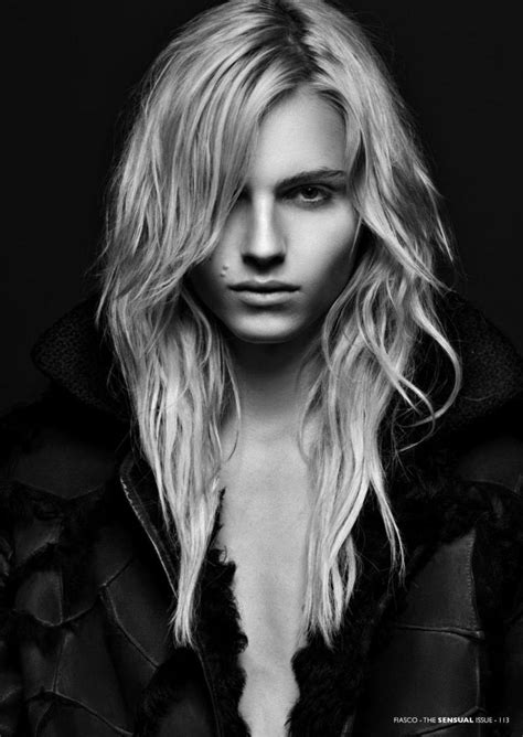 men with feminine long hair modern androgyny andrej pejic 2 models for the price of 1