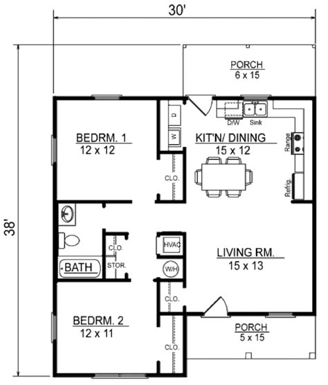 Small House Plans Under 600 Sq Ft Cottage Style House Plan 2 Beds 1 Baths 856 Sq Ft Plan