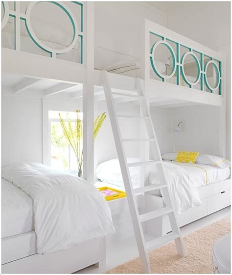 cool bunk bed ideas 10 cool built in bunk bed rail ideas