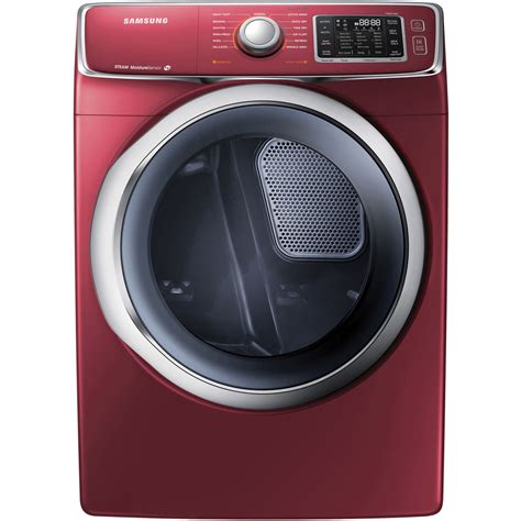 samsung 4 2 cf front load steam washer 7 5 steam electric dryer stacked