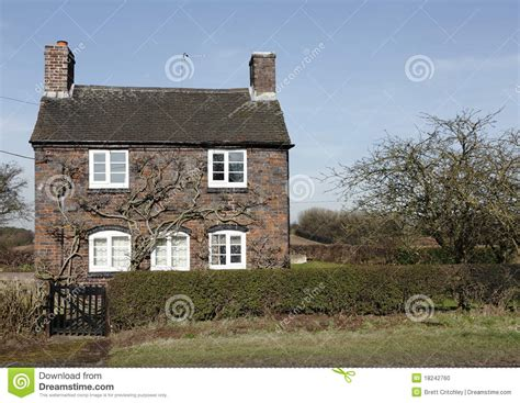 Old English Cottage House Plans Traditional Small English Cottage Stock Photo Image