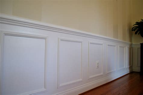 Premade Wainscoting Boxes Diy Pre Made Shadow Box Moulding Panels Decor