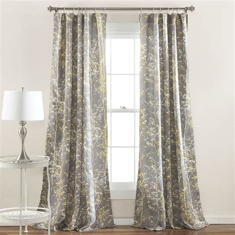 yellow window curtains beautiful yellow mustard curtains sale ease bedding with