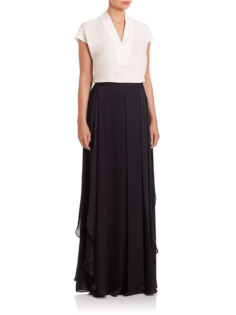 black chiffon maxi skirt 100 images guess by