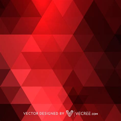 red pattern vector modern triangle red pattern free vector by vecree on