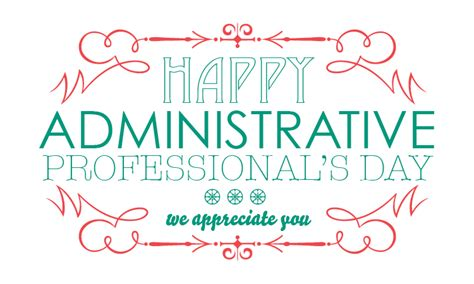 happy administrative professional s day fastdirect