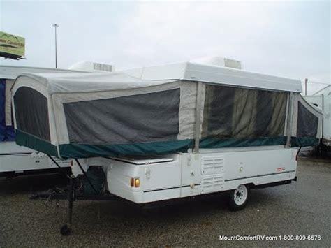 Coleman Pop Up Camper Floor Plans by Pre Owned 2002 Fleetwood Coleman Laramie Mount Comfort
