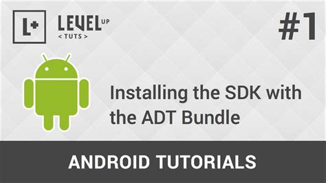 android sdk tutorial android development tutorials 1 installing the sdk with the adt bundle