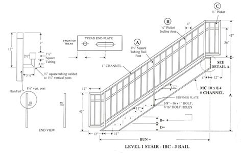 ibc stair design roundcontour handrail provided images frompo
