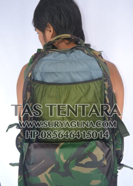 Tas Ransel Senjata Gunbag Army tas ransel laptop army loreng tentara suryaguna