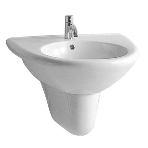half pedestal bathroom sinks bathroom sinks wall mount basin with half pedestal