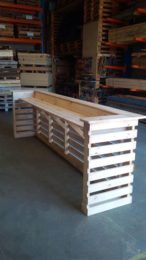 pallet bar unit pine mm pallet west