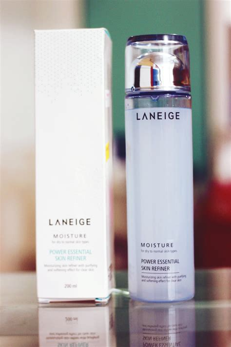 Laneige Toner bar laneige power essential skin refiner moisture review