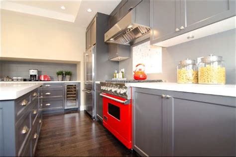 red and grey kitchen ideas decorating with red grey ideas inspiration