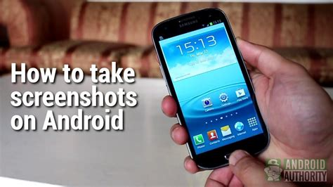 how to screenshot on android phone how to take screenshots on android