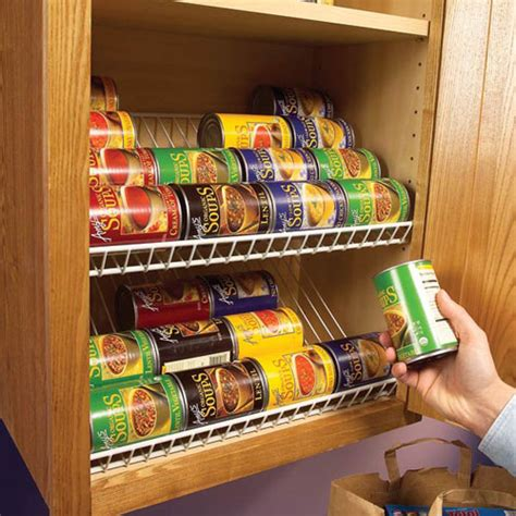 Kitchen Cabinet Organizing Systems Kitchen Storage Ideas That Are Easy And Affordable