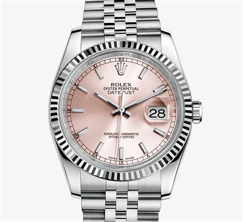 Rolex Datejust Combi Gold For rolex datejust 36 mm white rolesor combination of 904l steel and 18 ct white gold