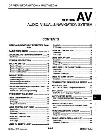 download car manuals pdf free 1997 infiniti i windshield wipe control download 2010 infiniti g37 audio visual system section av pdf manual 496 pages