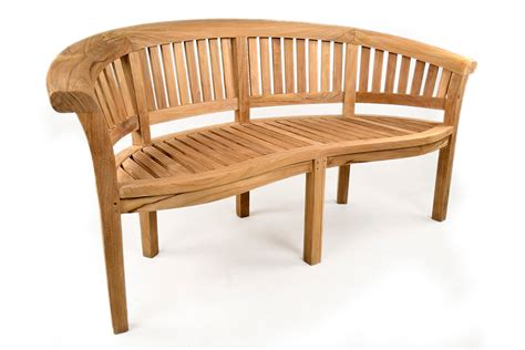 teak banana bench madinley luxury teak bench grade a teak furniture