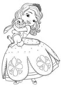 sofia e clover sofia la principessa disegni da colorare