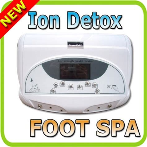Ionic Foot Detox Near Me by Foot Spa Dtoxa Cell Dtoxa Cell Dual Ion Ionic Detox Foot