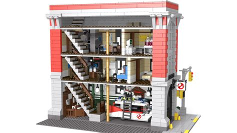 Lego Ghostbusters House by Lego Ideas Ghostbusters Headquarters