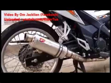 Knalpot Cld Klx 150 honda sonic 150 r with cld tipe c3 exhaust n play