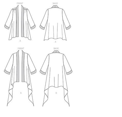 Horn Style Sml Dress vogue pattern v1505 kimono style jackets jaycotts co uk