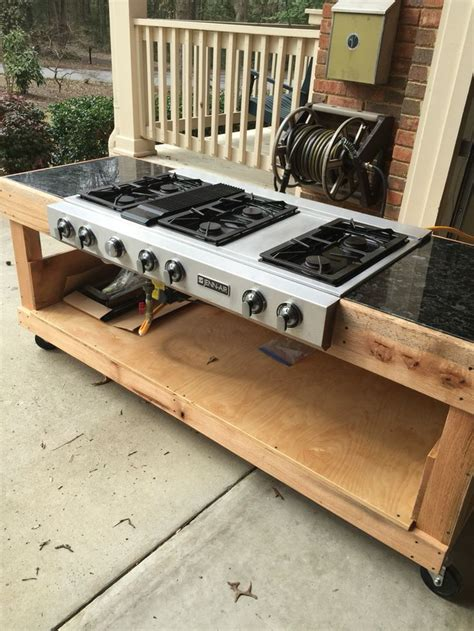 Outdoor Kitchen Gas Burner by Best 25 Propane Stove Ideas On