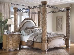 Queen Bed Frame Ashley Furniture Furniture Gt Bedroom Furniture Gt Canopy Bed Gt Canopy Bed