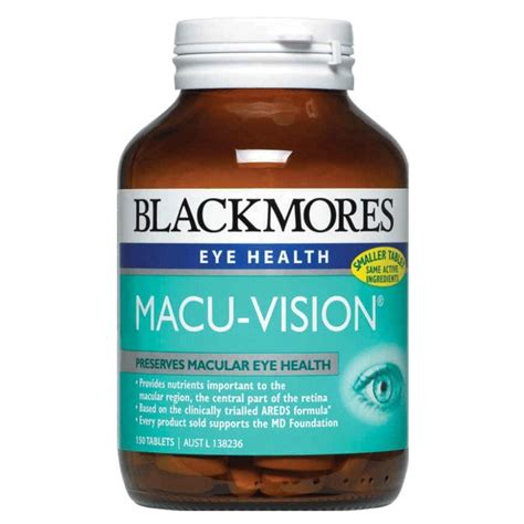 New Blackmores Lutein Vision 60 Softgels Kalbe Bpom Suplemen Mata eye vision care my daily vita australia better naturally