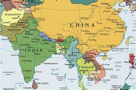world map asia rivers world rivers