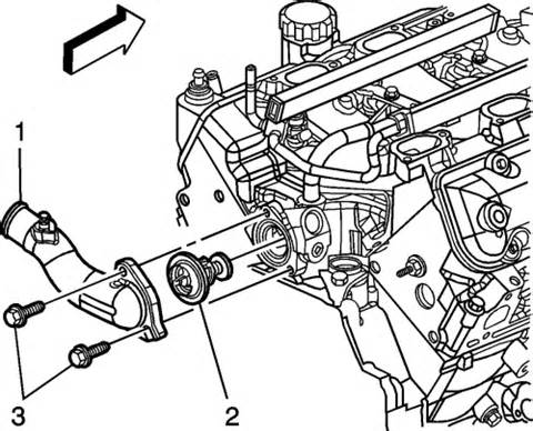 2007 Pontiac G6 Thermostat Replacement Pontiac G5 Thermostat Location Get Free Image About