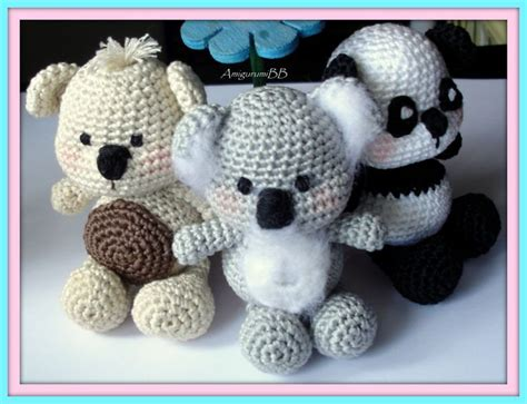 crochet pattern koala bear 1000 images about free koala crochet patterns on