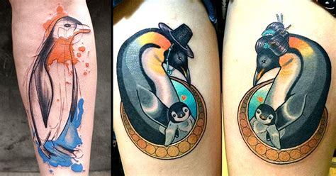exit 13 tattoo 13 playful penguin tattoos tattoodo