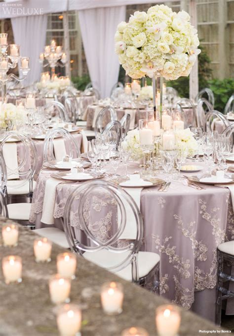 reception table settings archives weddings romantique
