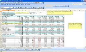 Operating Budget Template Excel Excel Spreadsheep Templates