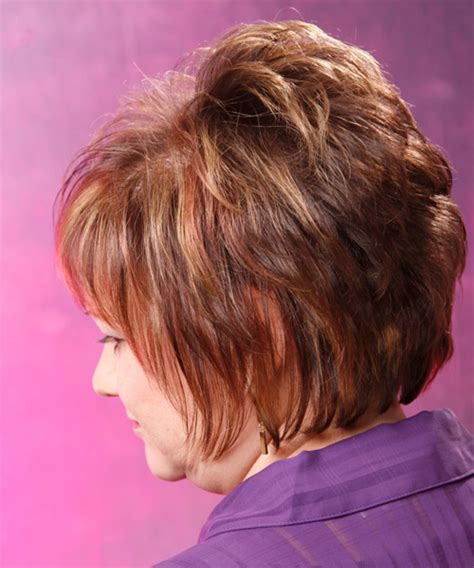 bob hairstyles with height on crown formal short straight hairstyle