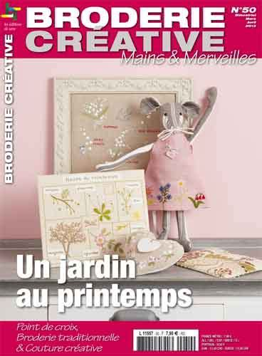 libro fifty paths to creative broderie cr 233 ative 50 un jardin au printemps de les 233 dition de saxe libros y revistas