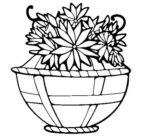 coloring pages basket of flowers basket of flowers 11 coloring page coloringcrew
